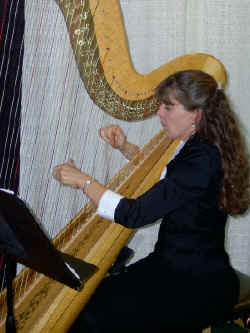 Genie Thiergartner your Wedding Harpist of choice